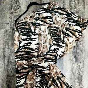 Jumpsuit- Animal print